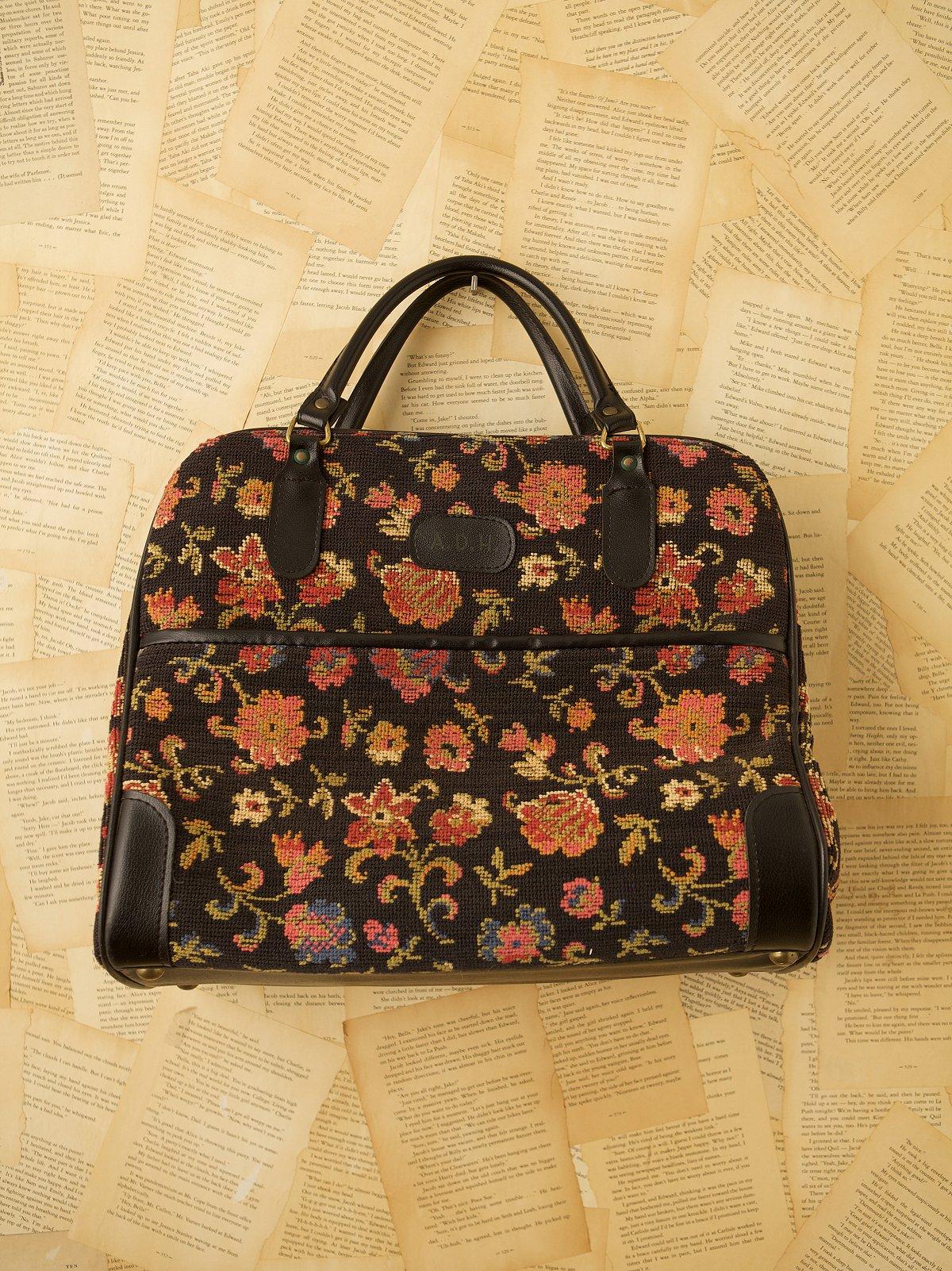 Vintage Tapestry Travel Bag