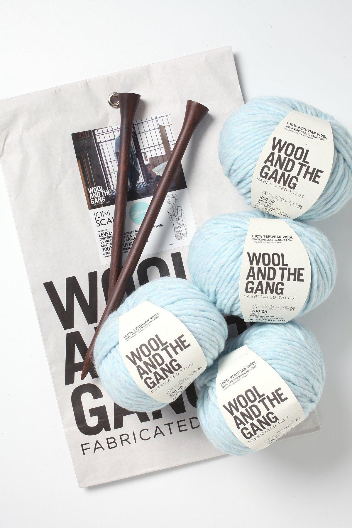 Joni Scarf Knitting Kit
