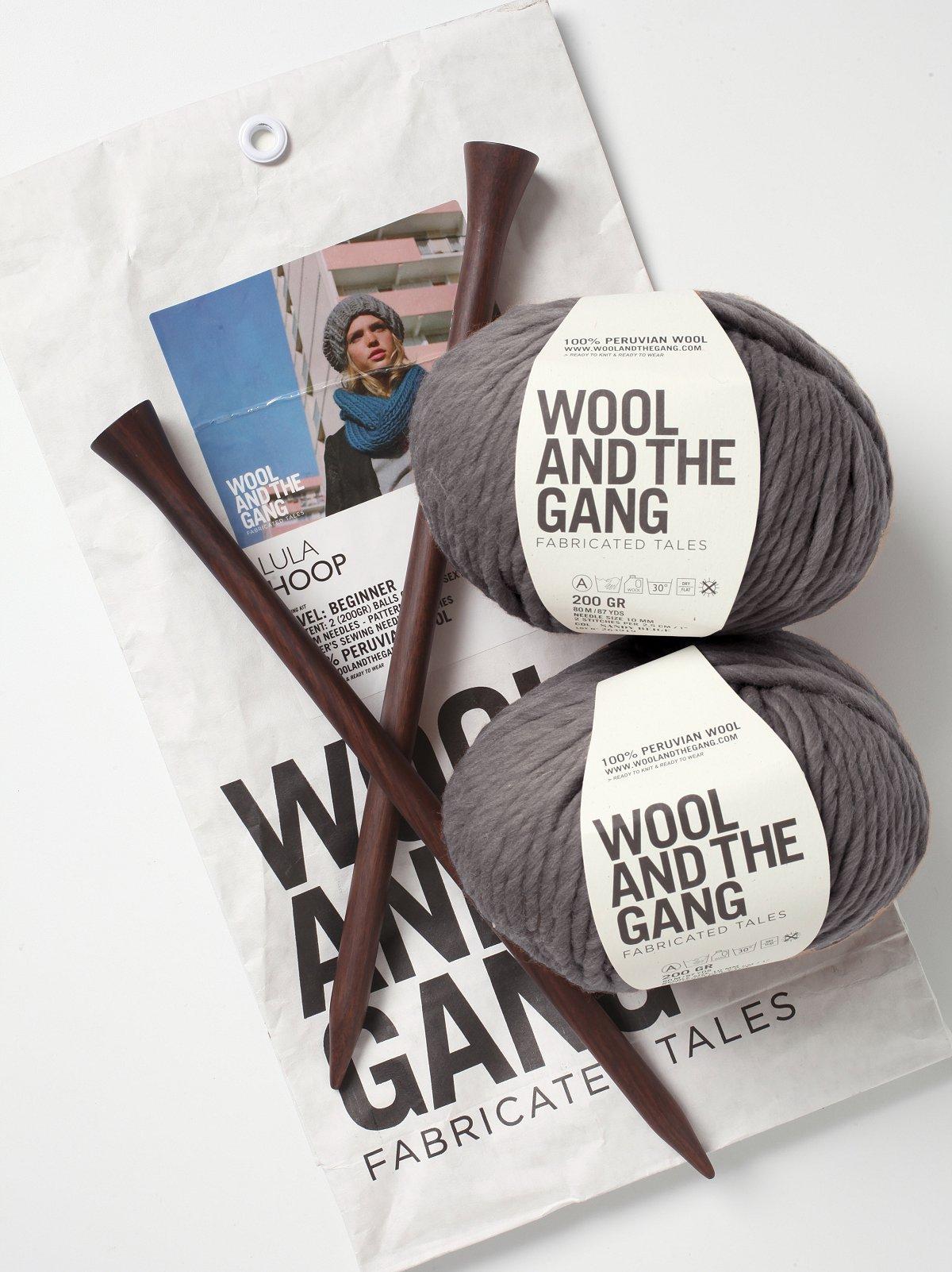 Lula Hoop Scarf Knitting Kit