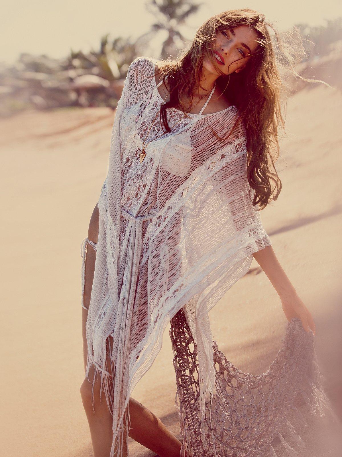 Runaway Lace Kaftan