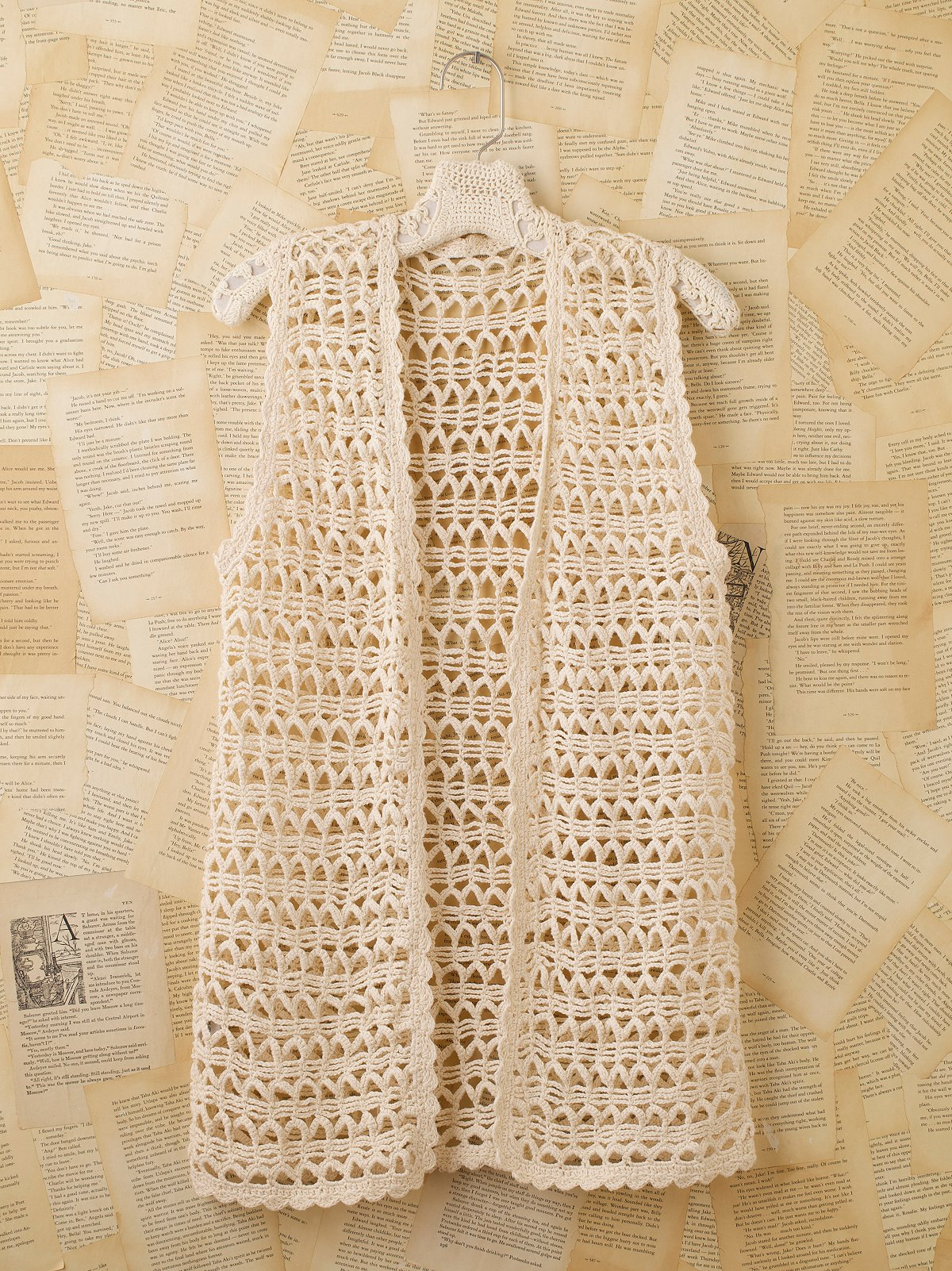 Vintage Crochet Sweater Vest
