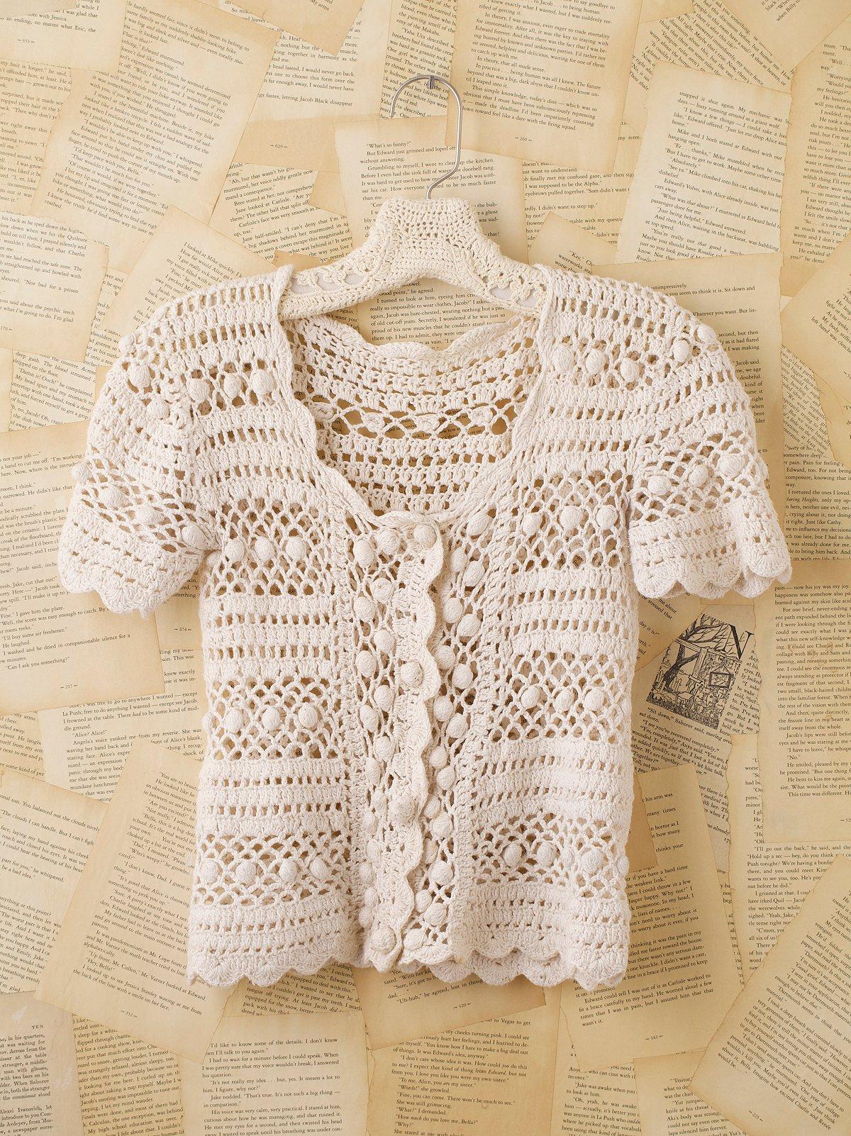 Vintage Crochet Top