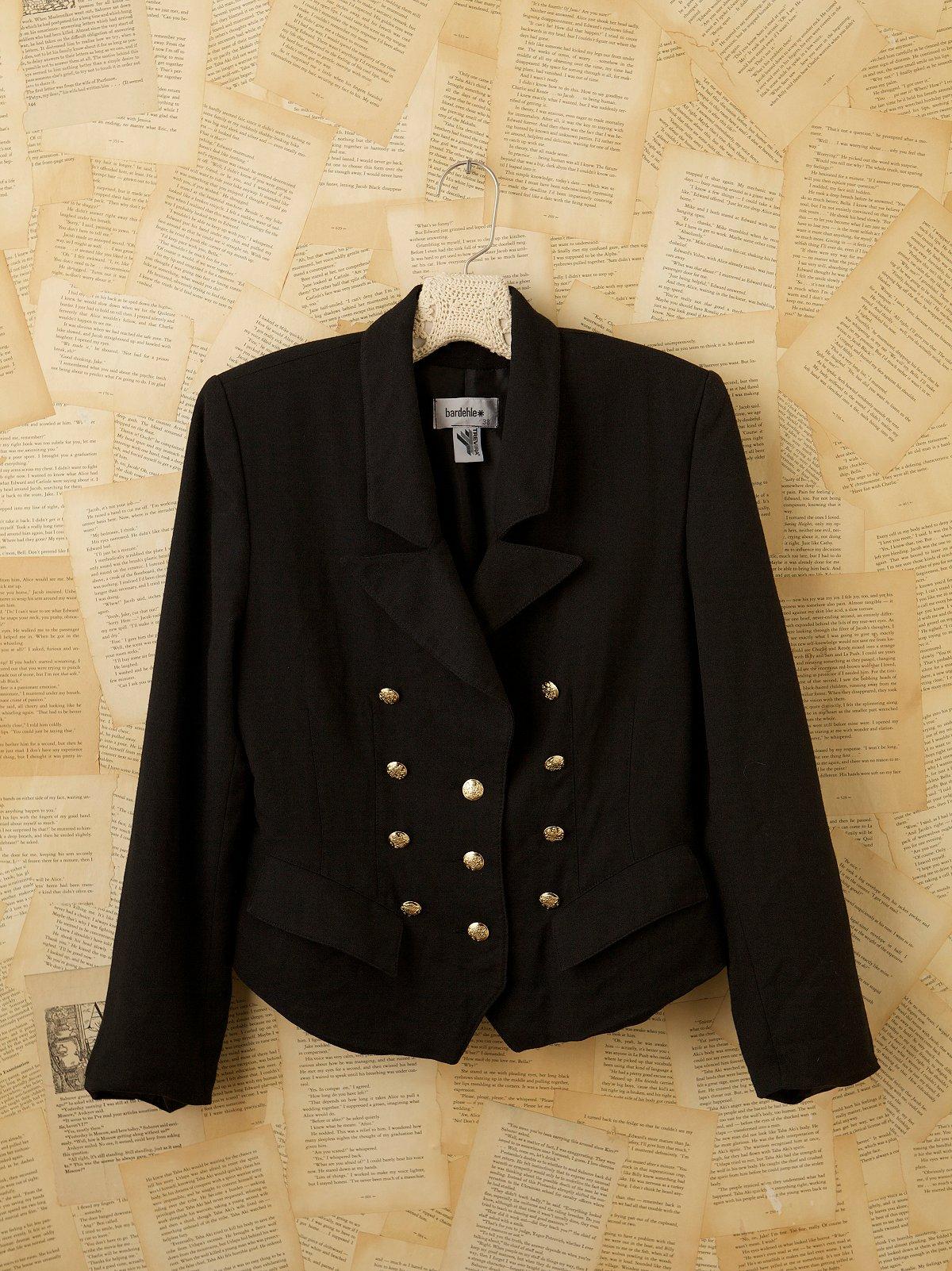 Vintage 1970s Women's Blazer