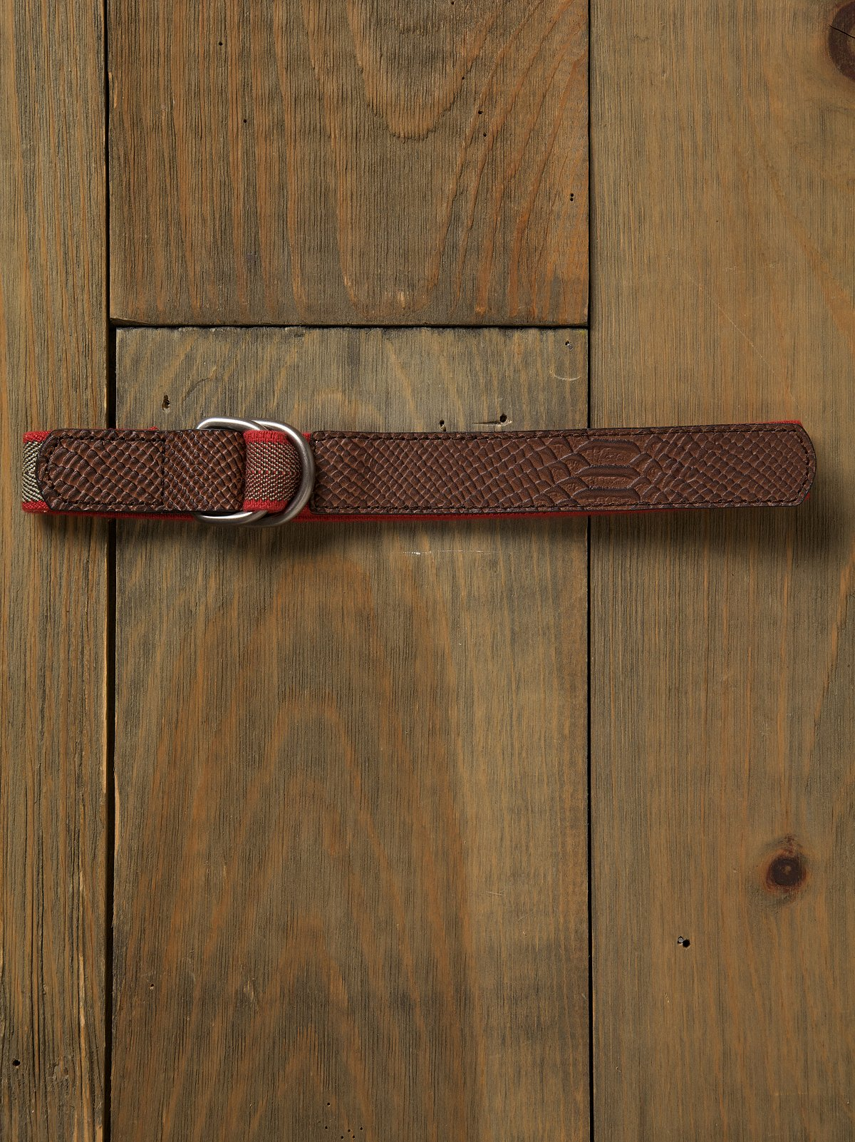 Embossed Waist Belt