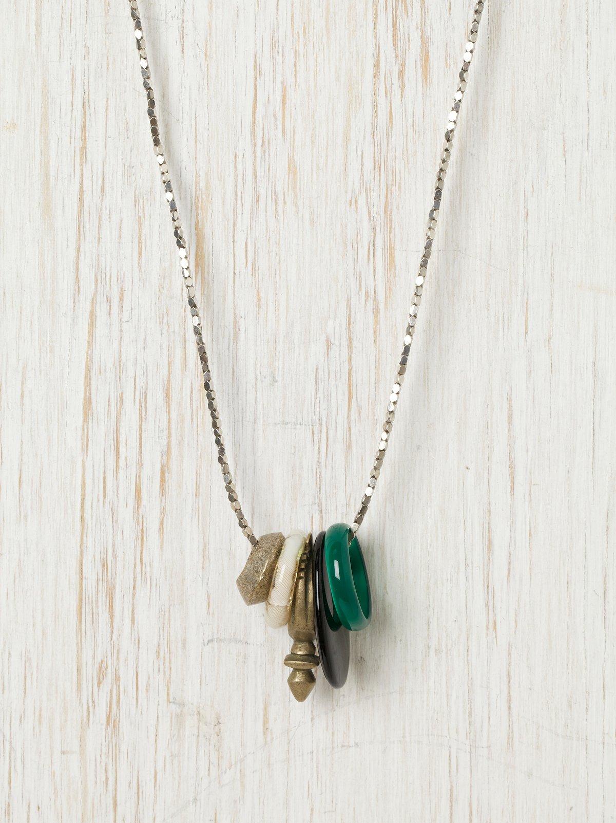Rings Of Jupiter Necklace