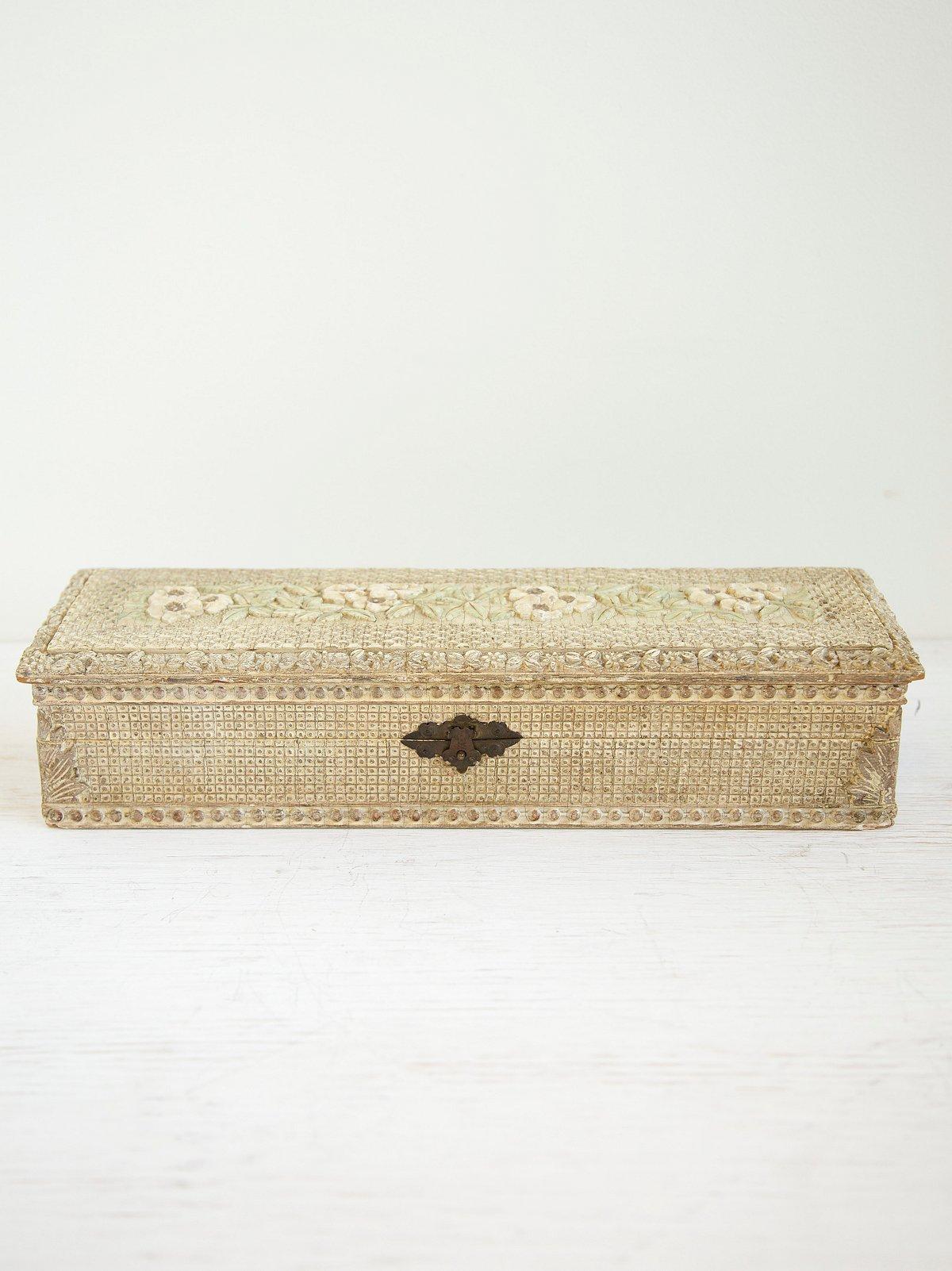 Vintage Celluloid Jewel Box