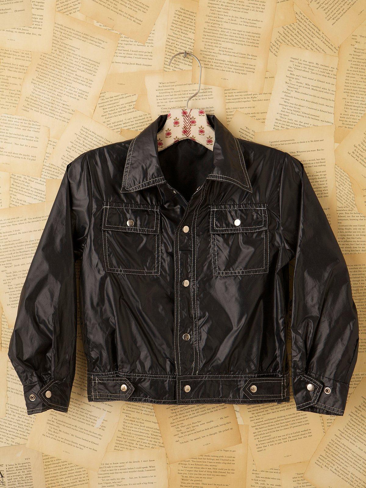 Vintage 70s Slick Jean Jacket