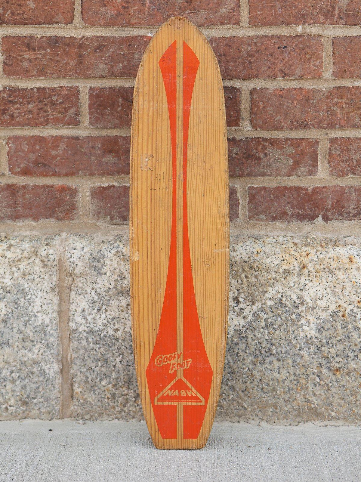 Vintage 1960s Skateboard
