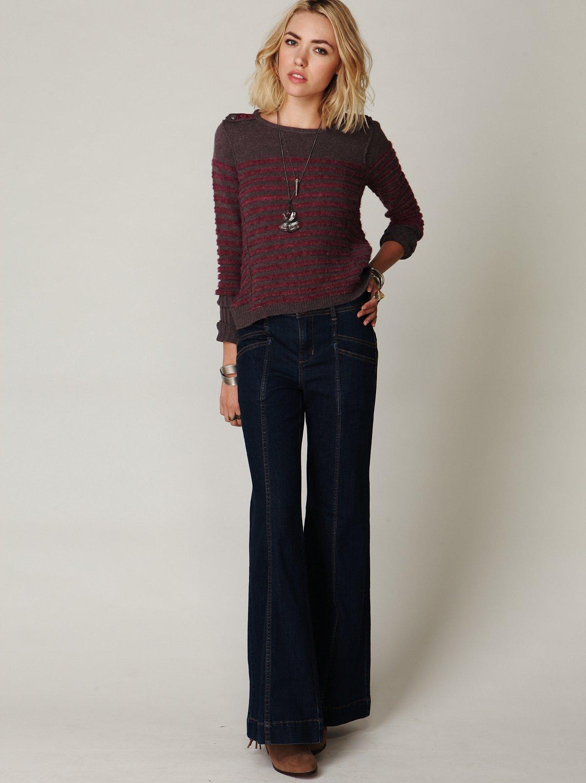 Super 70's Wideleg Jean