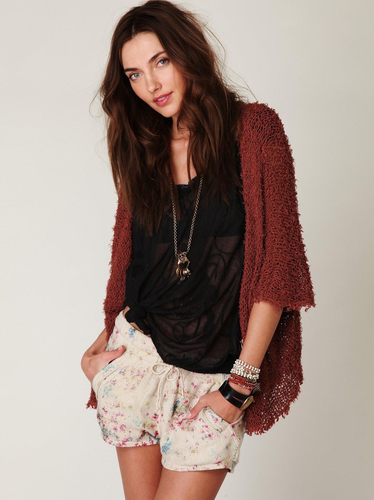Maurine Printed Knit Short