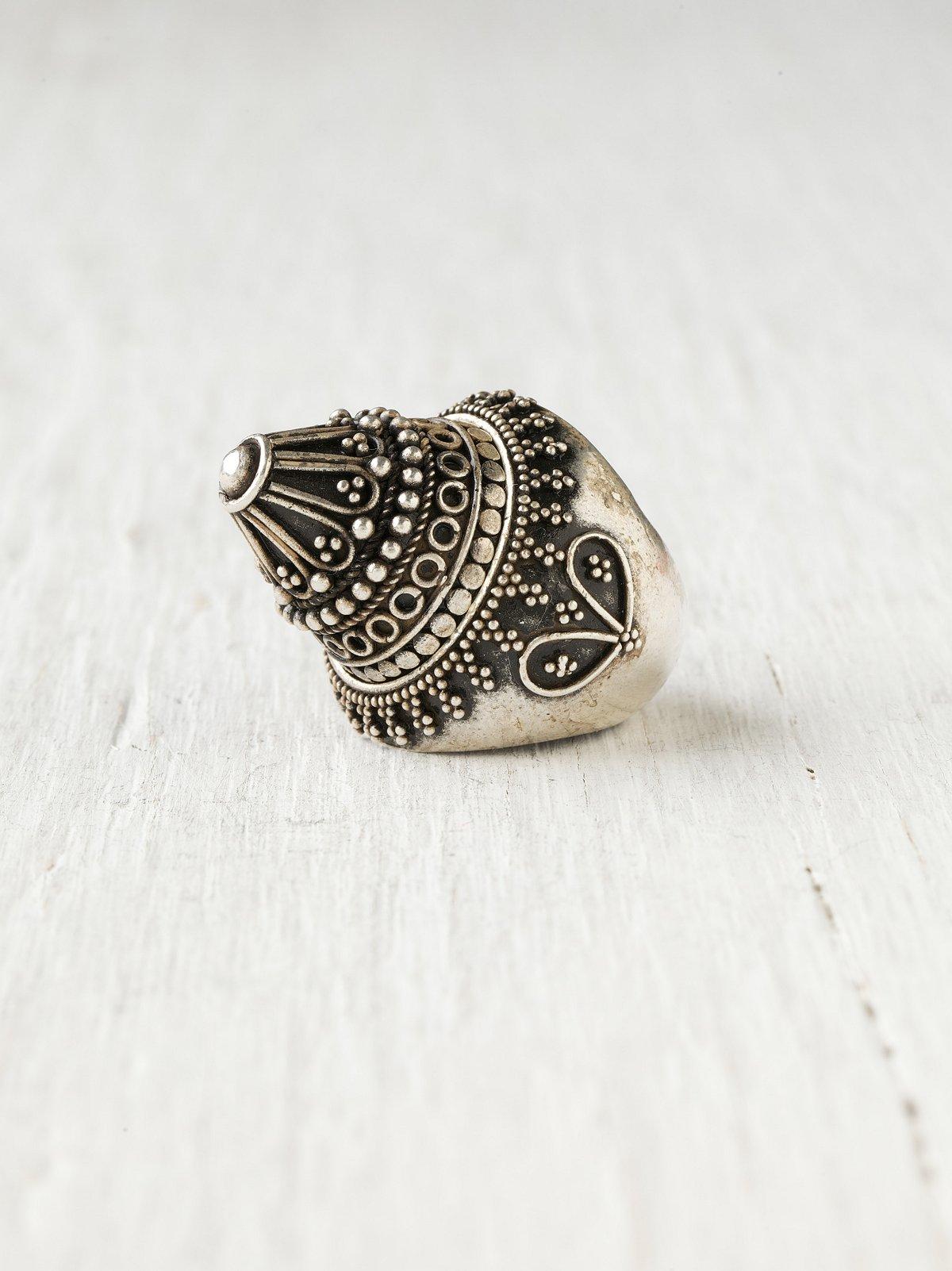 Tibetan Crown Ring