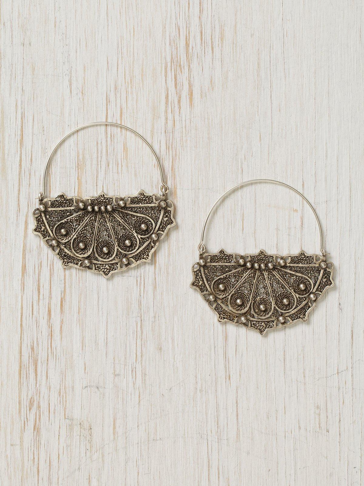 Bombay Hoop Earrings