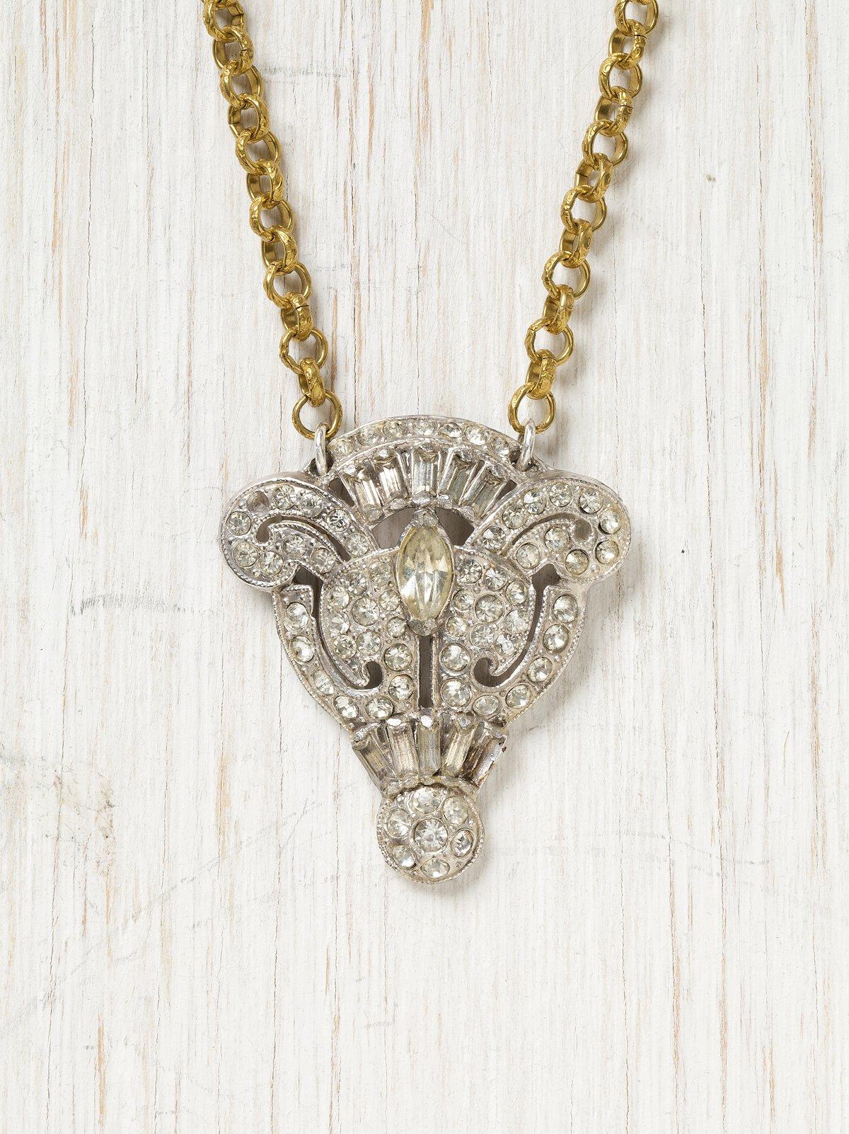 Vintage Fleur Necklace
