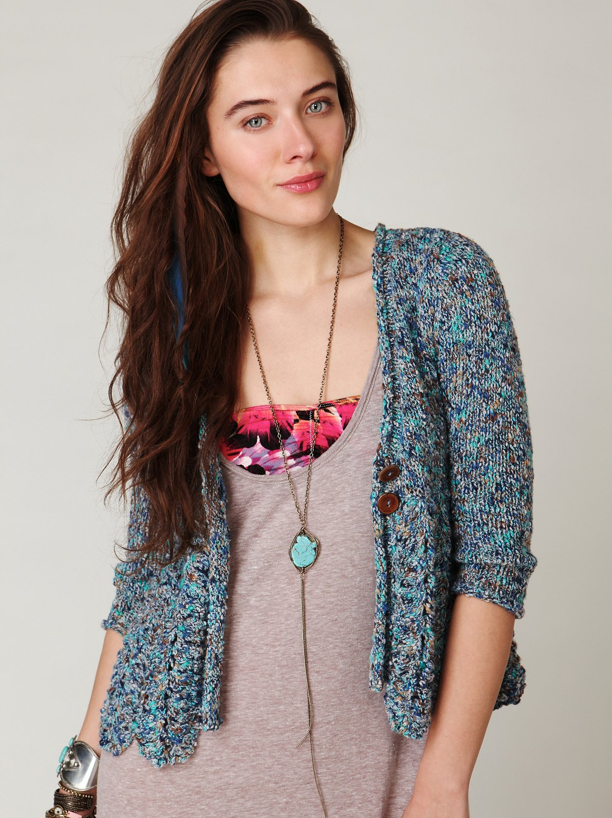 Speckled Cardigan