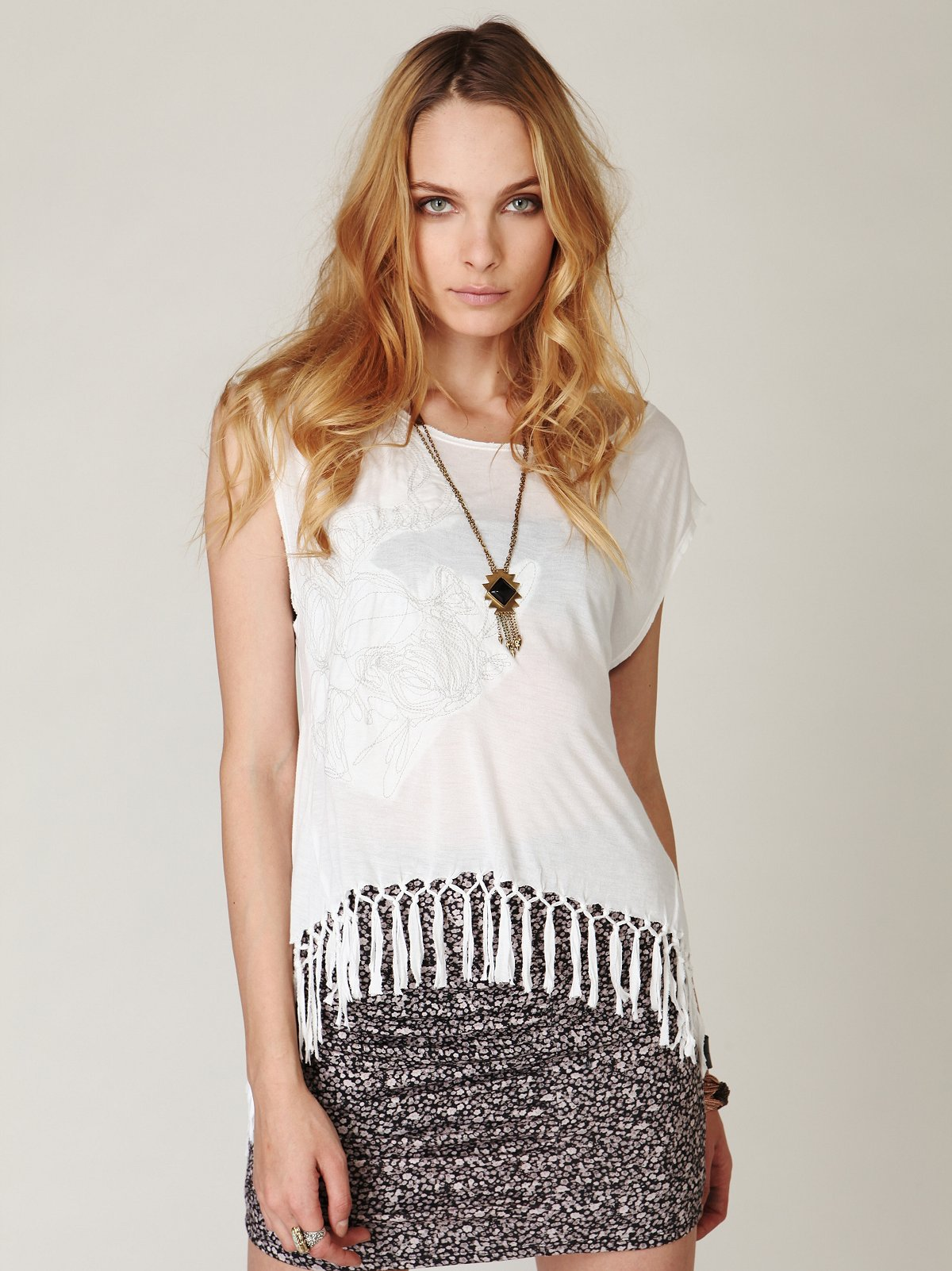 Fearless Fringe Graphic Tee