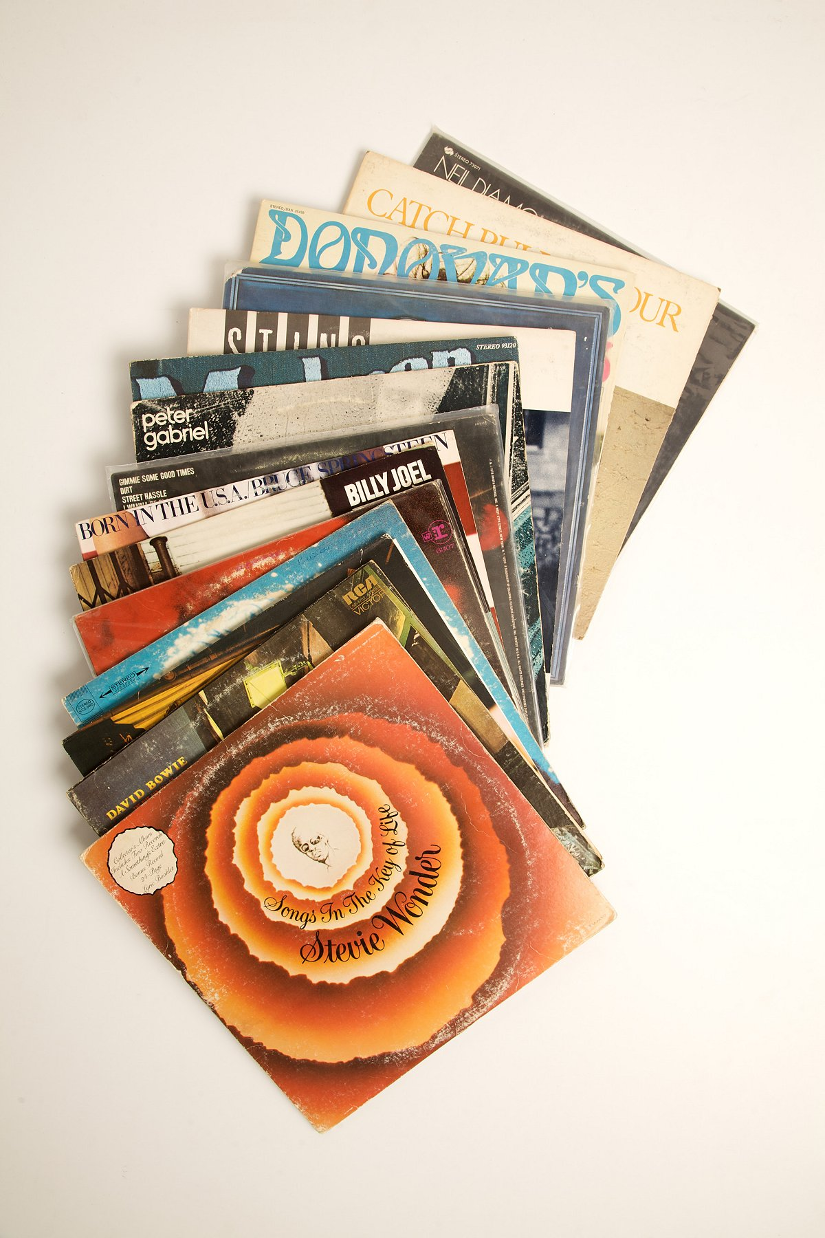 Vintage One Man Band Record Collection