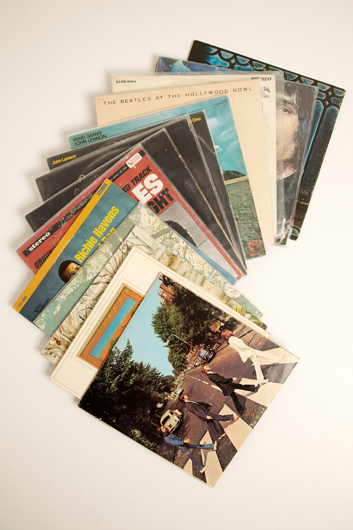 Vintage Fab Four and Friends Record Collection