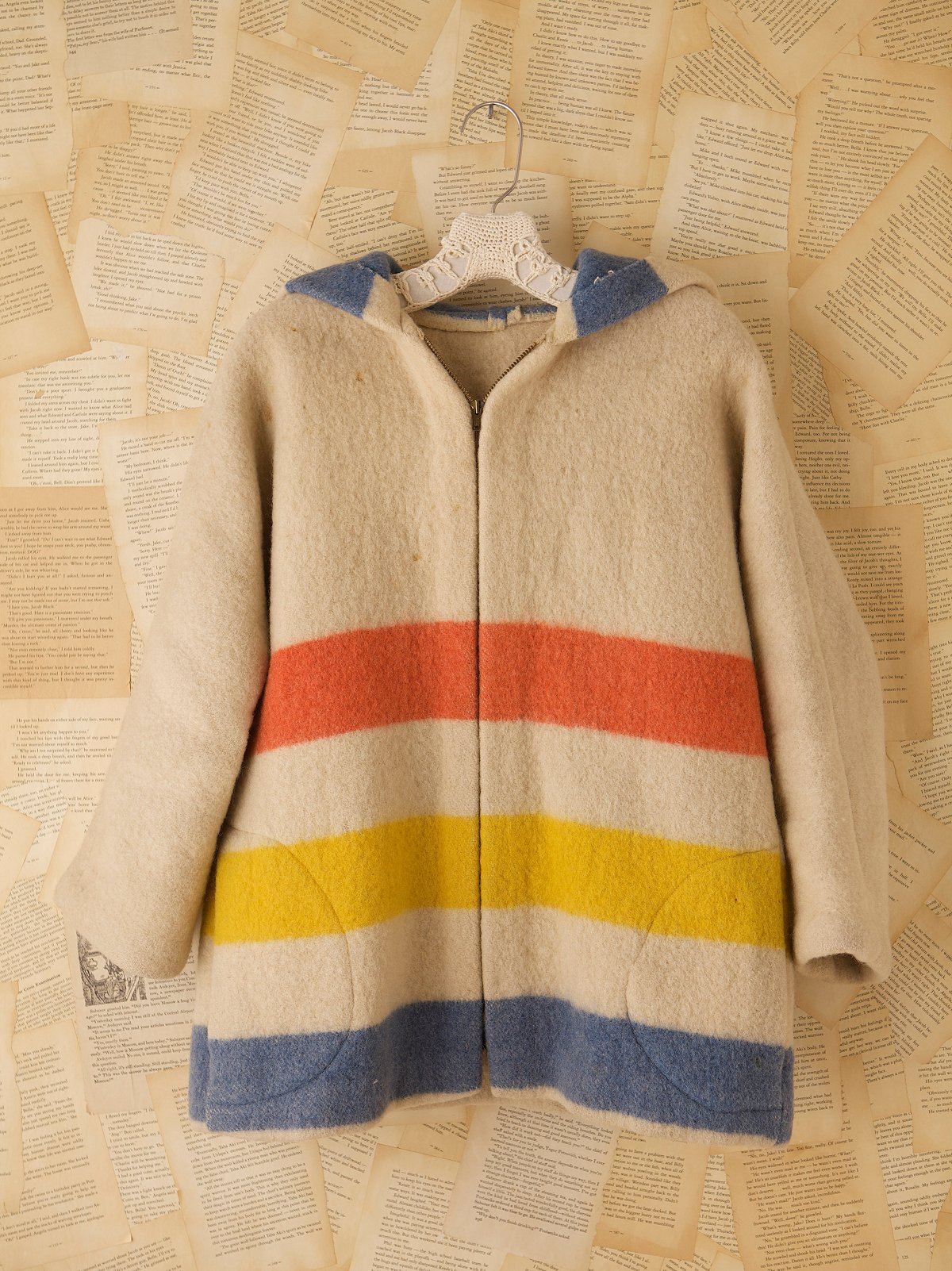 Vintage 1970s Hudson Bay Mountain Coat