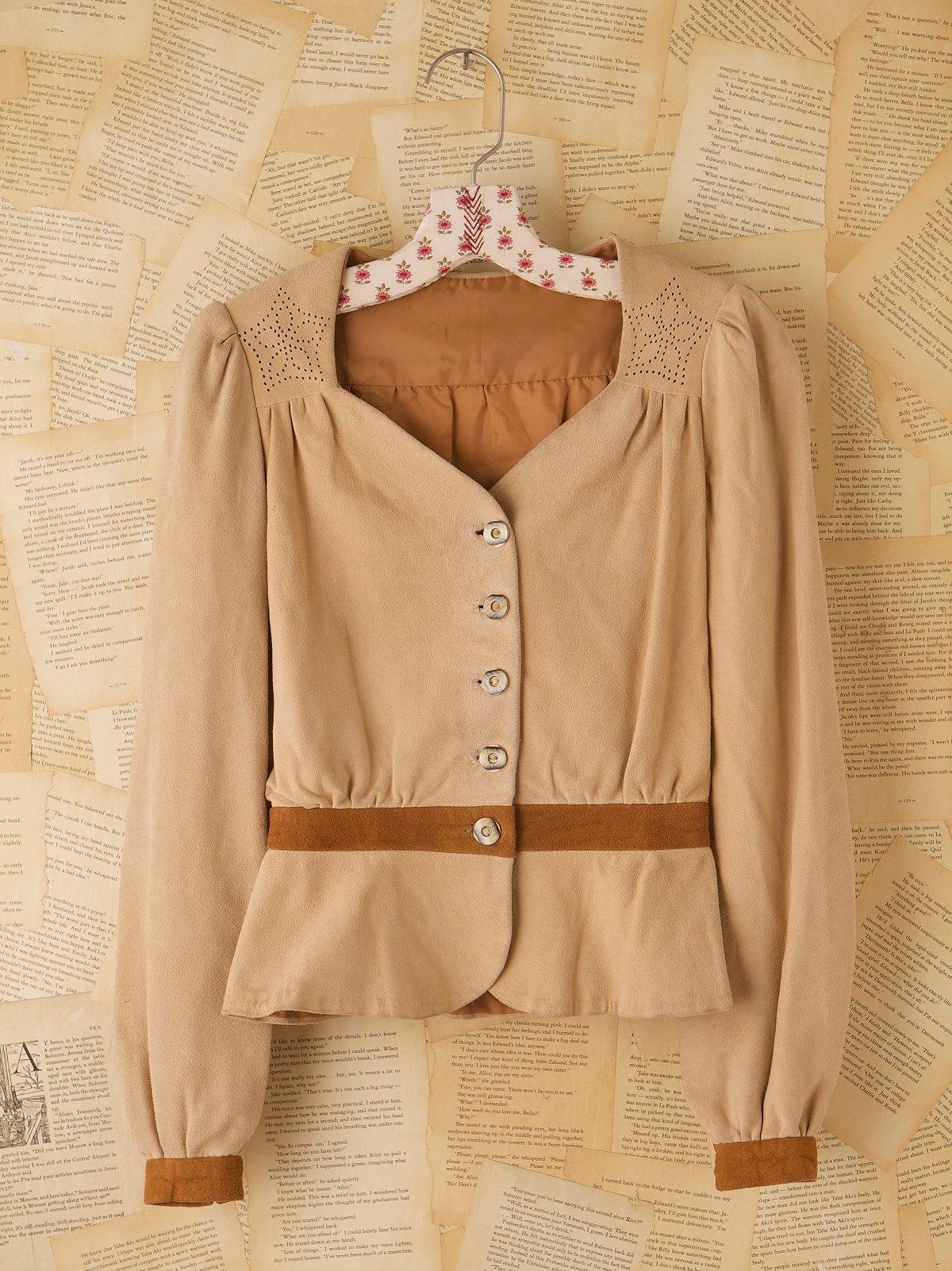 Vintage 1970s Suede Jacket