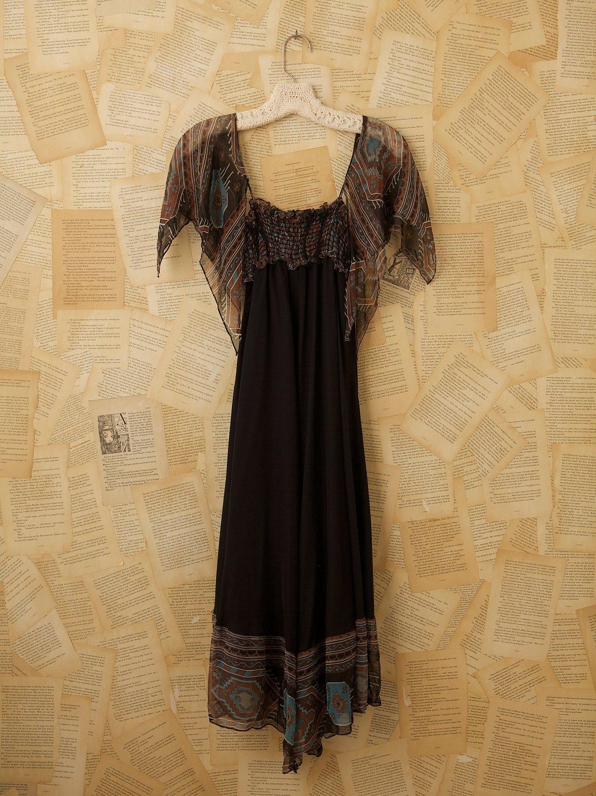 Vintage 1970s Ceci Dress