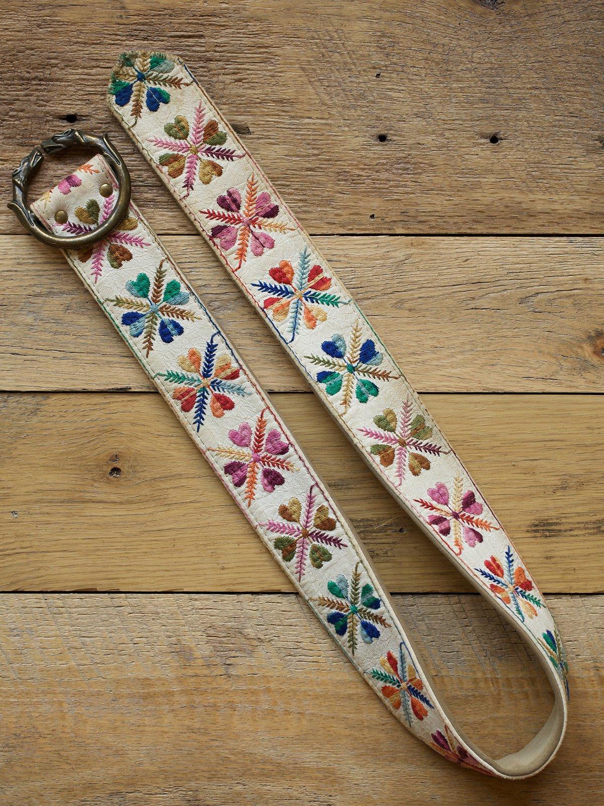 Vintage Handmade Belt