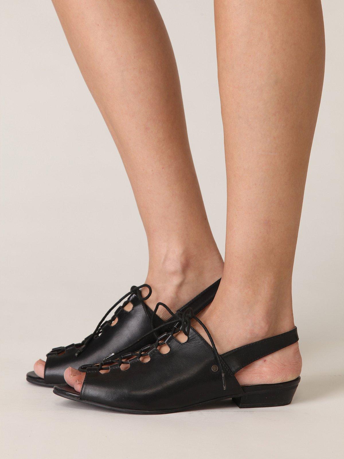 Hedy Lace Up Sandal