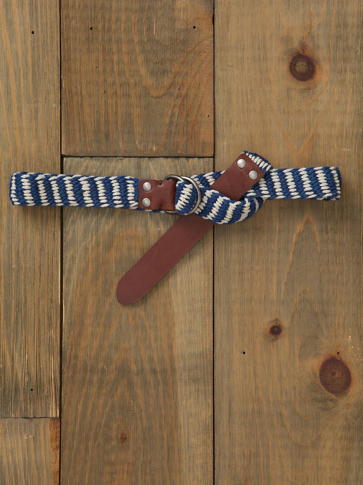 Woven In Rope Belt