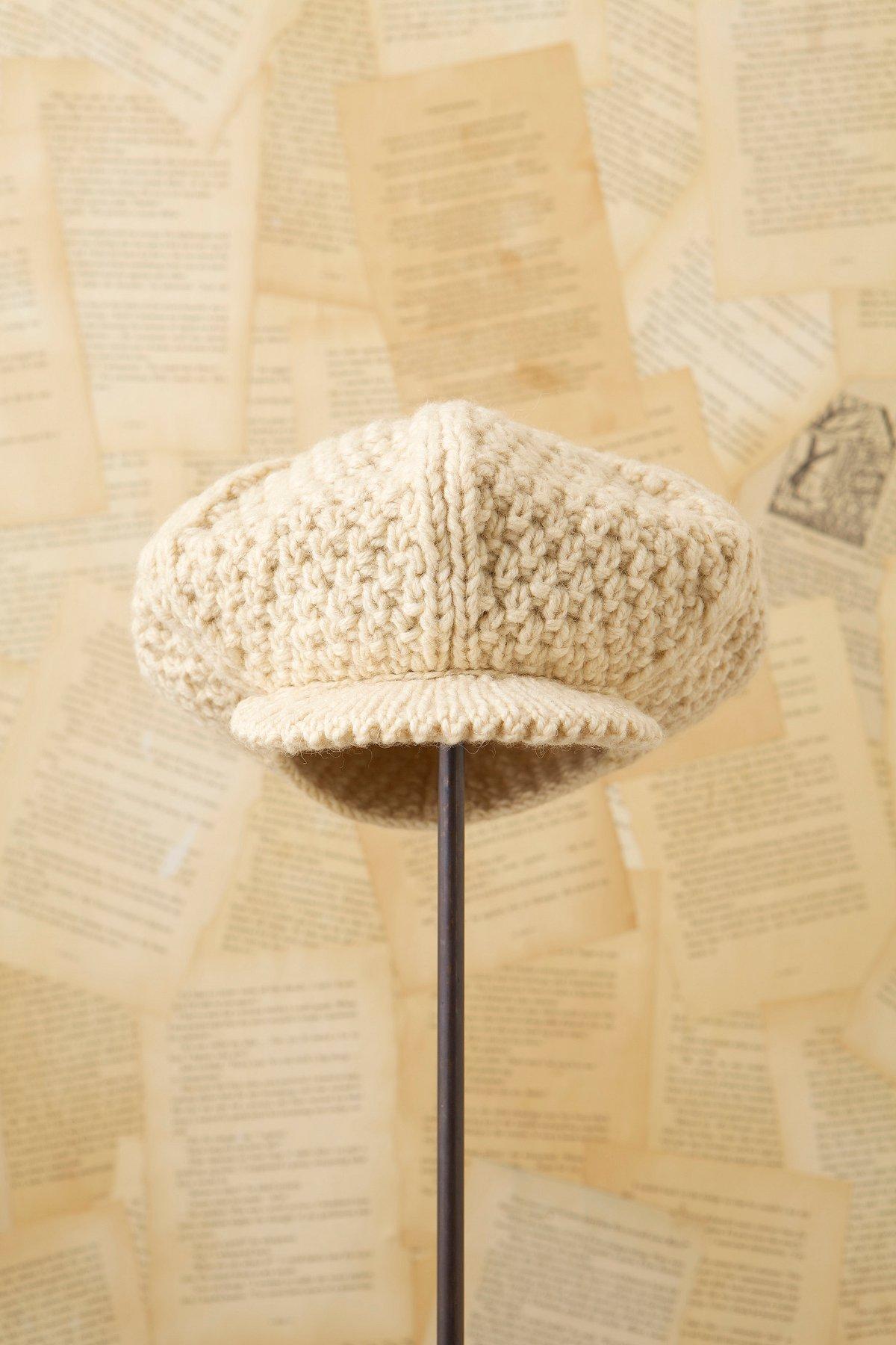 Vintage 1970s Handknit Hat