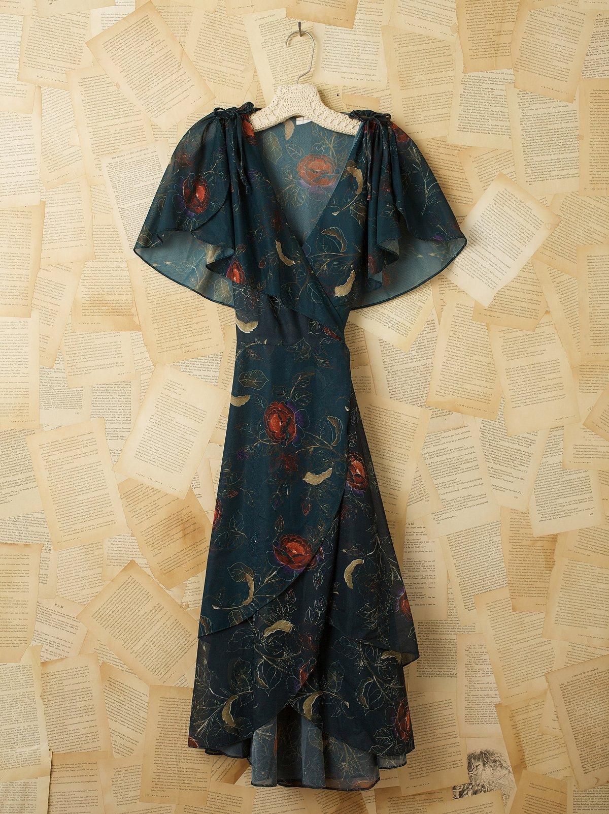 Vintage Late 1970s Dance Dress