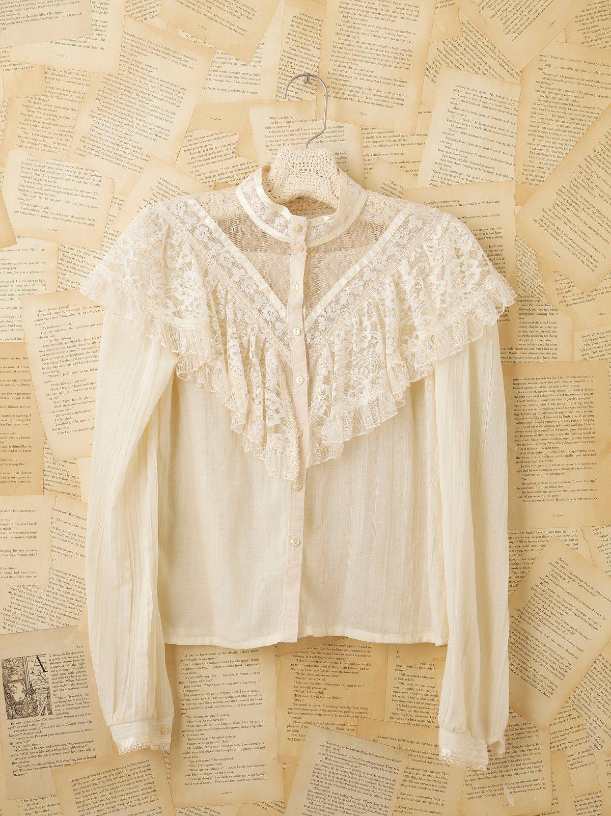 Vintage Rayon Blouse