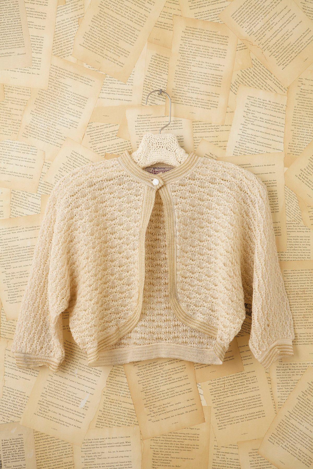 Vintage 50s Sweater Jacket