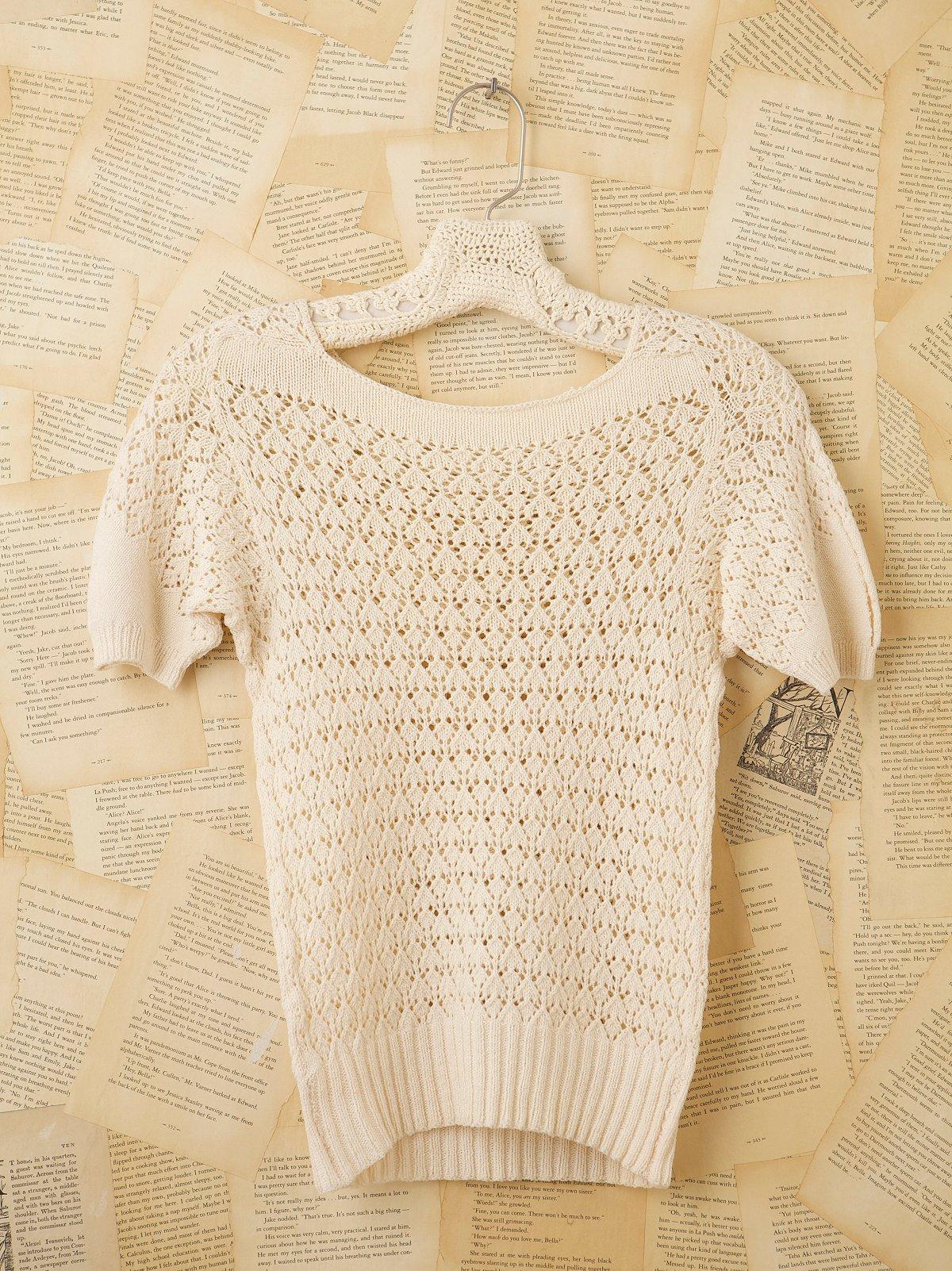Vintage 1930s Crochet Top