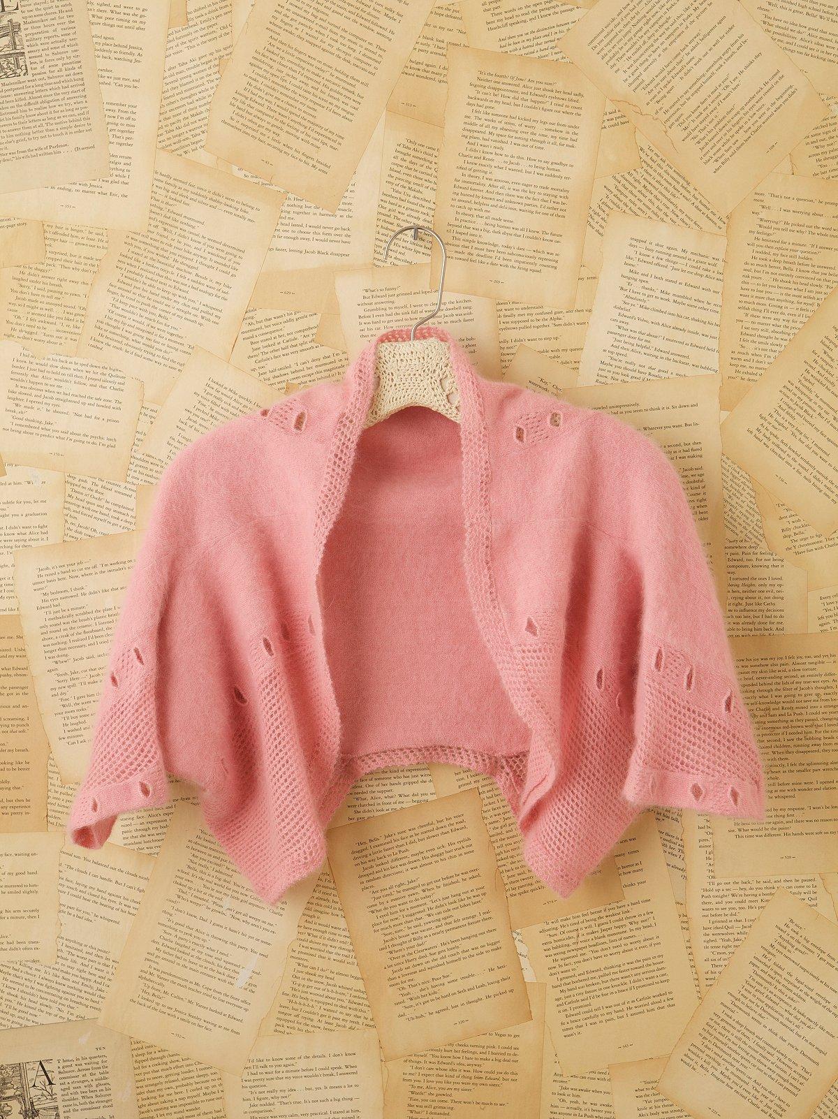 Vintage Cropped Sweater Shrug