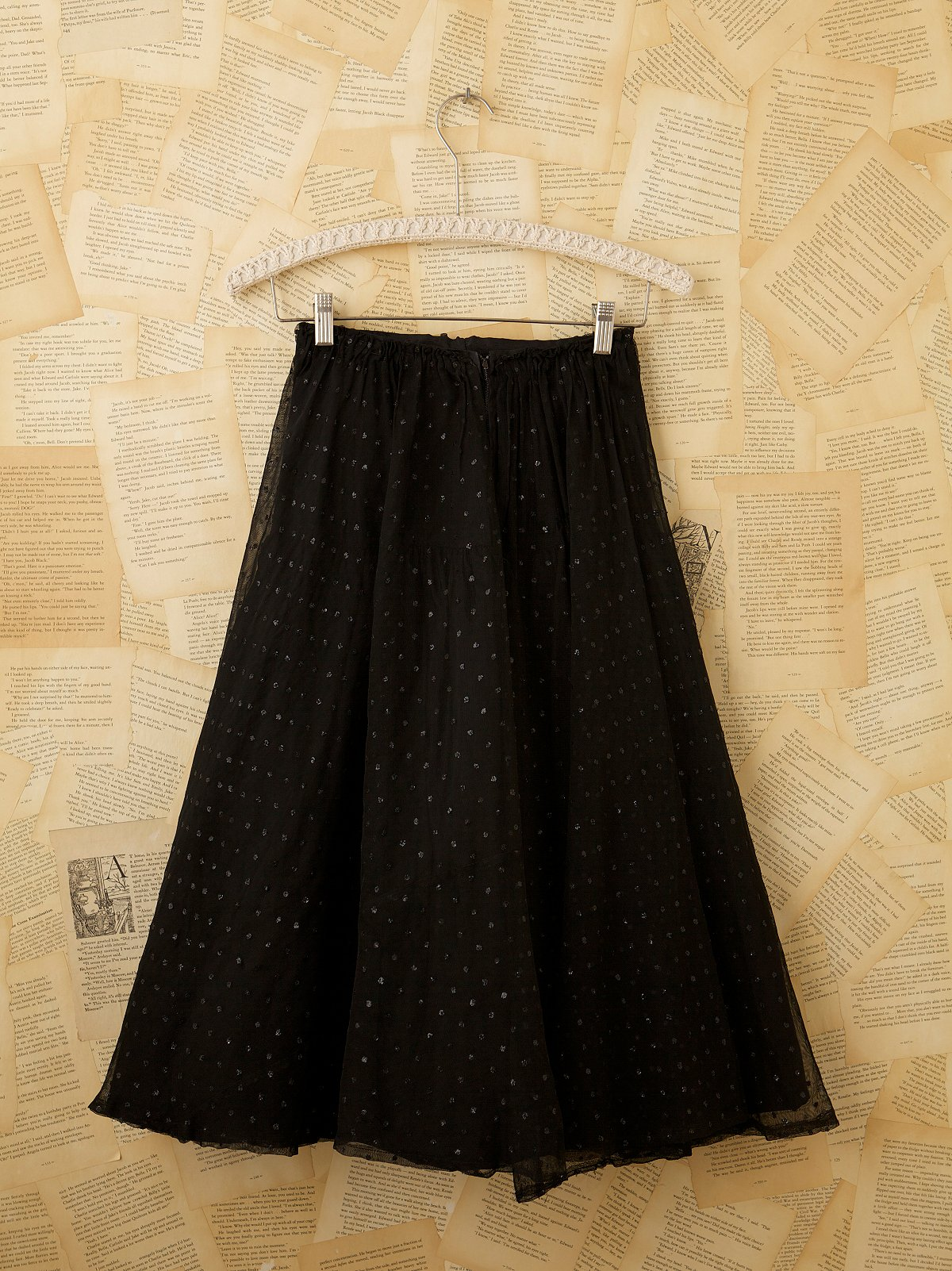 Vintage Bottom Net Skirt
