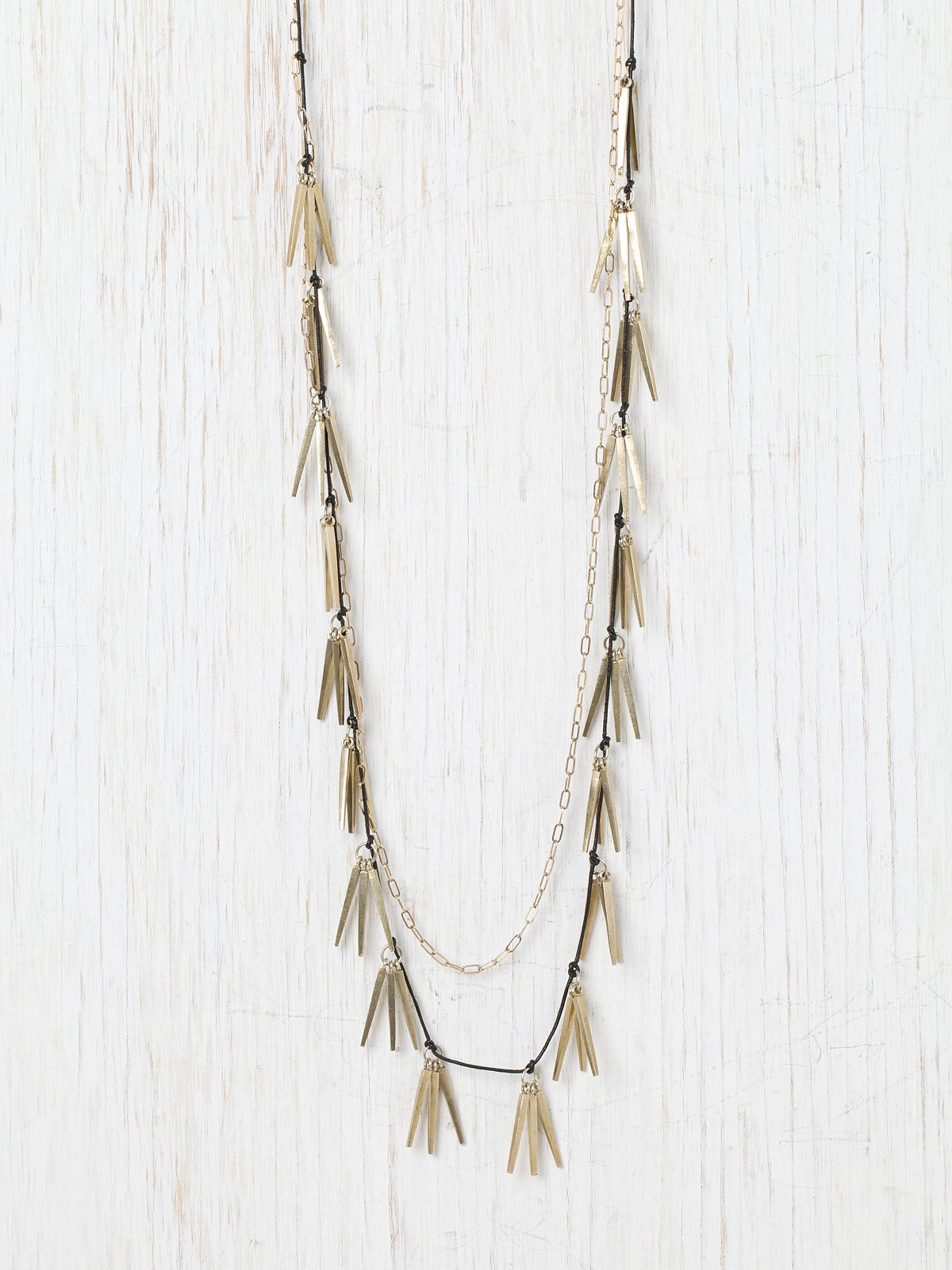 Spoke Layering Necklace