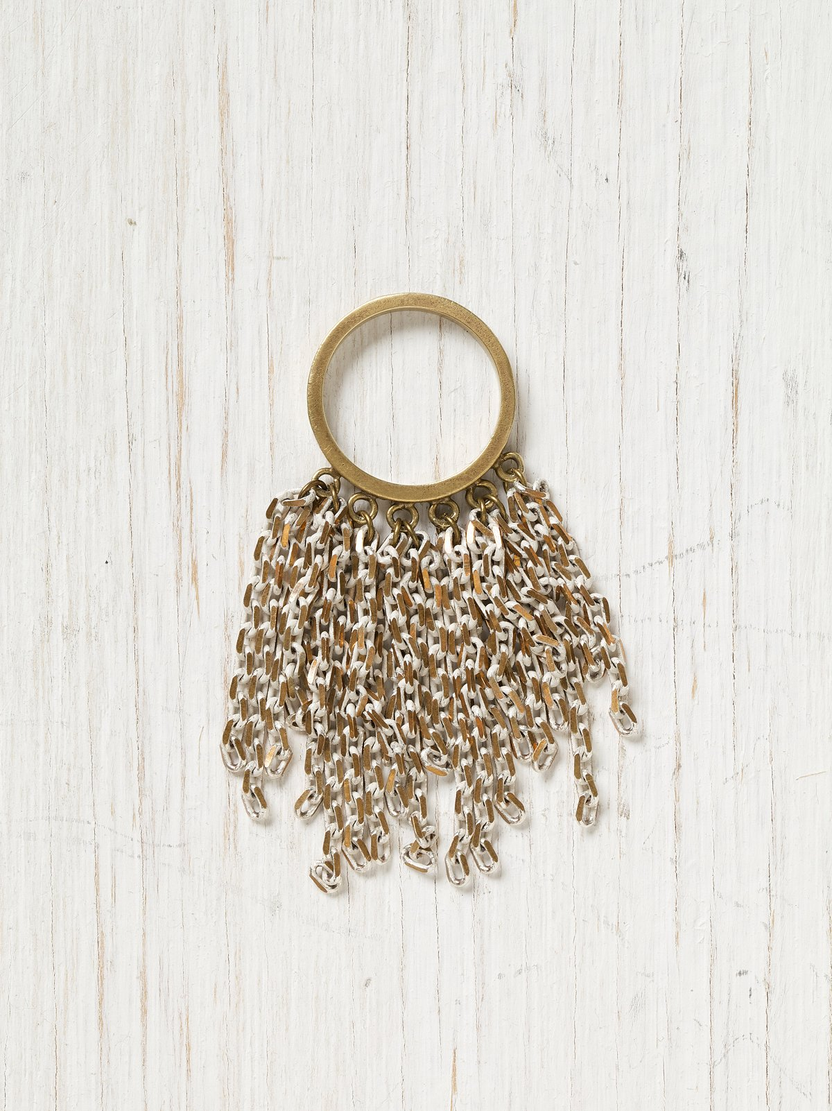 Waterfall Fringe Ring