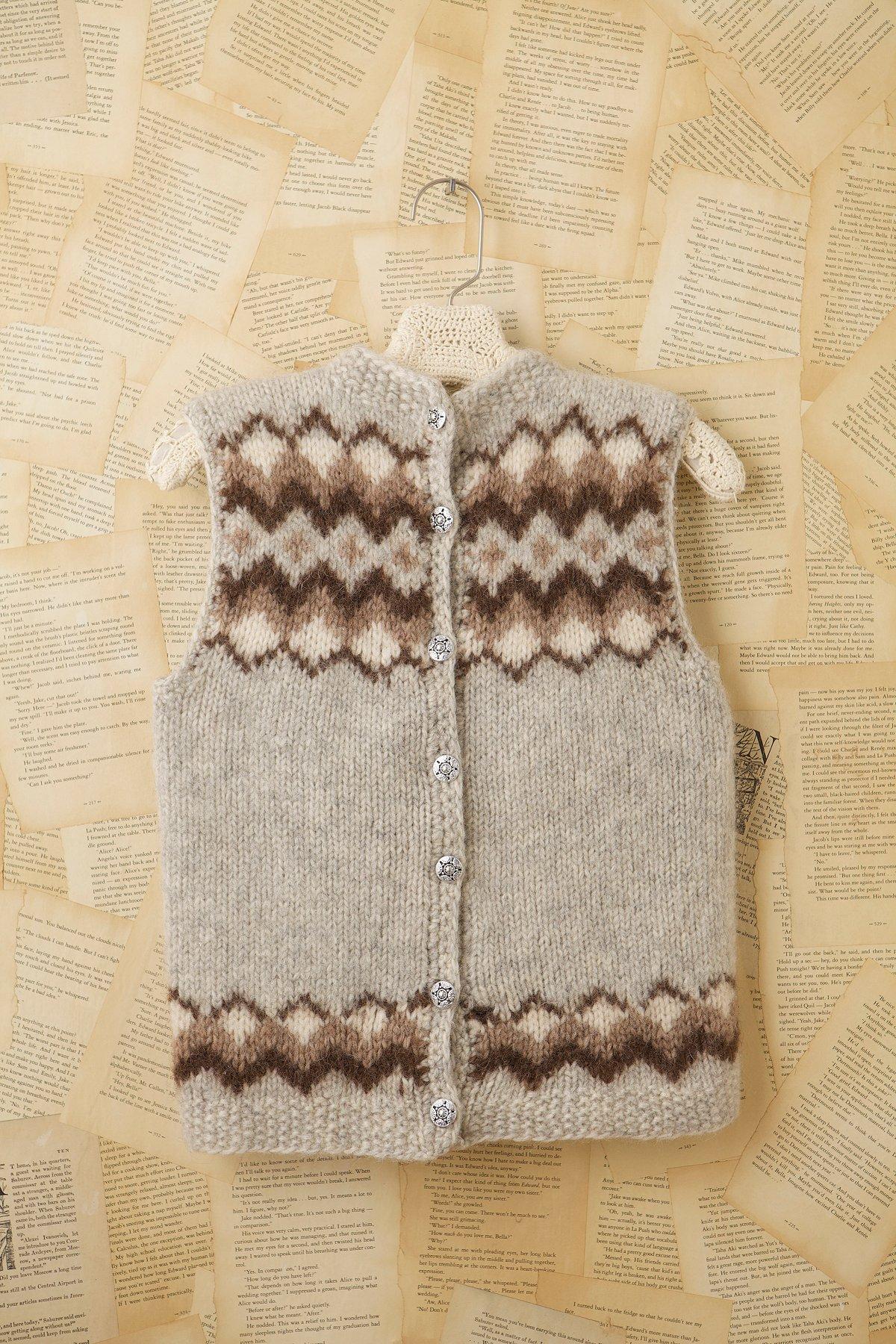 Vintage Sweater Vest