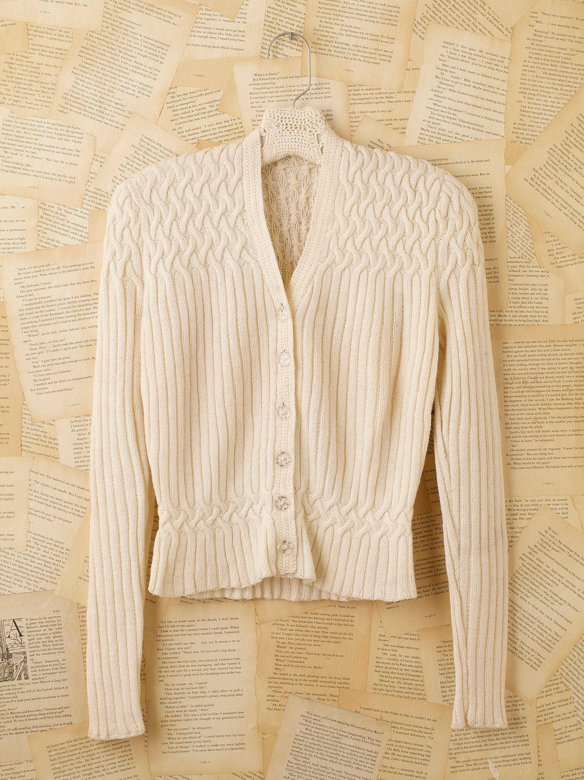 Vintage Buttondown Sweater