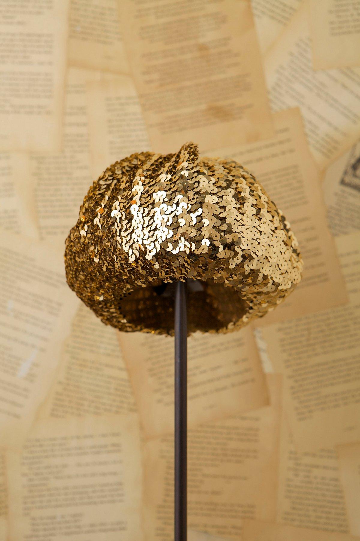 Vintage Sequin Hat