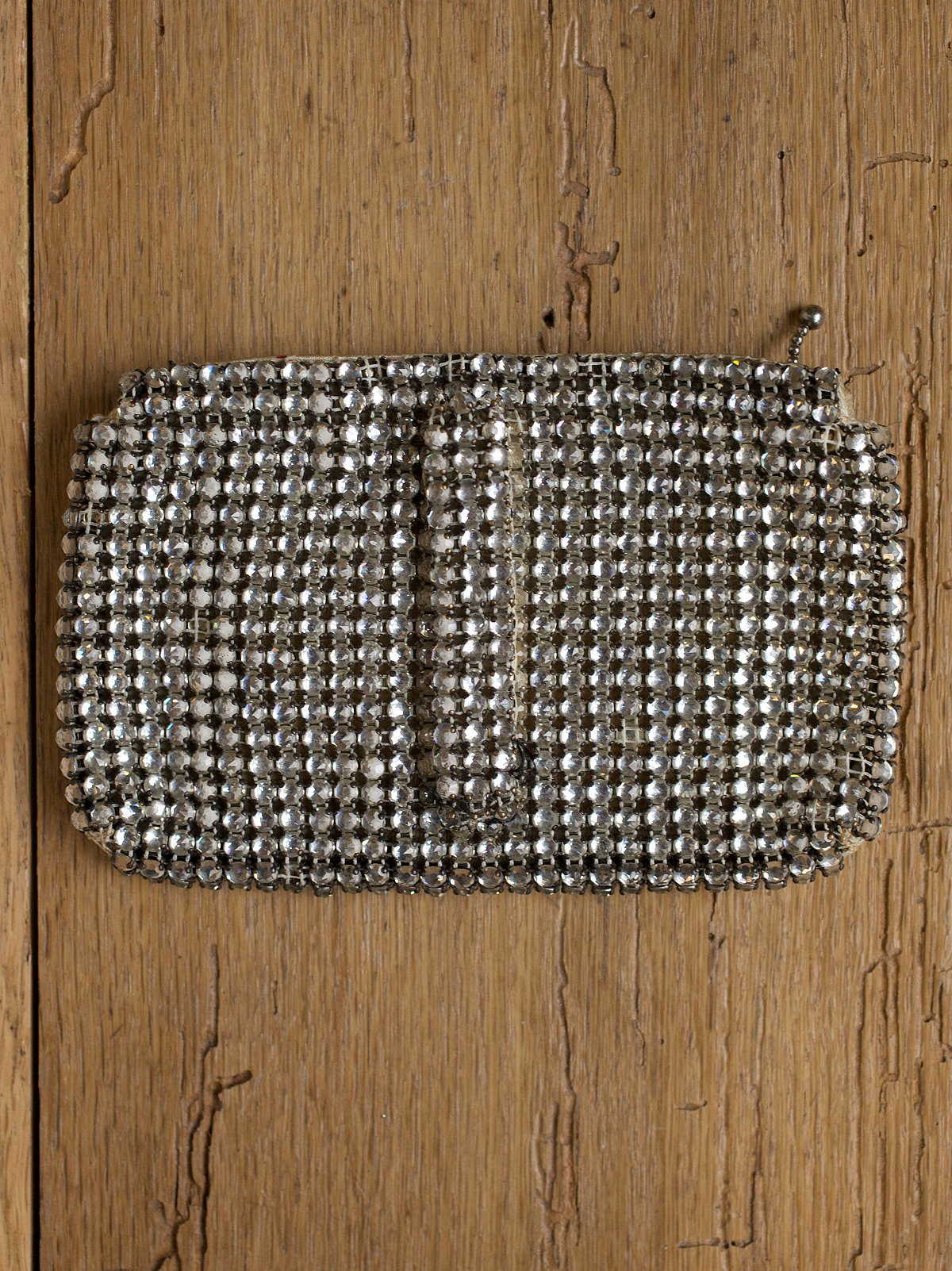 Vintage Rhinestone Belt Bag