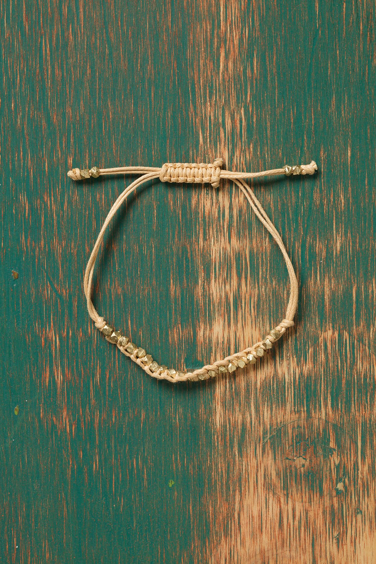 Golden Nugget Bracelet