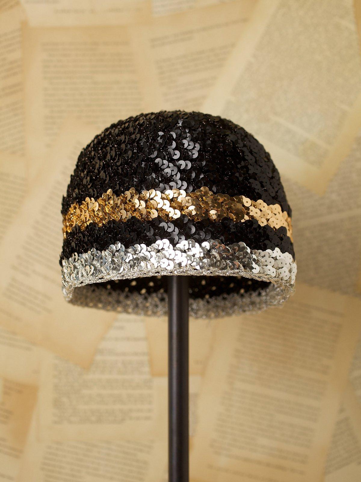Vintage Sequined Hat