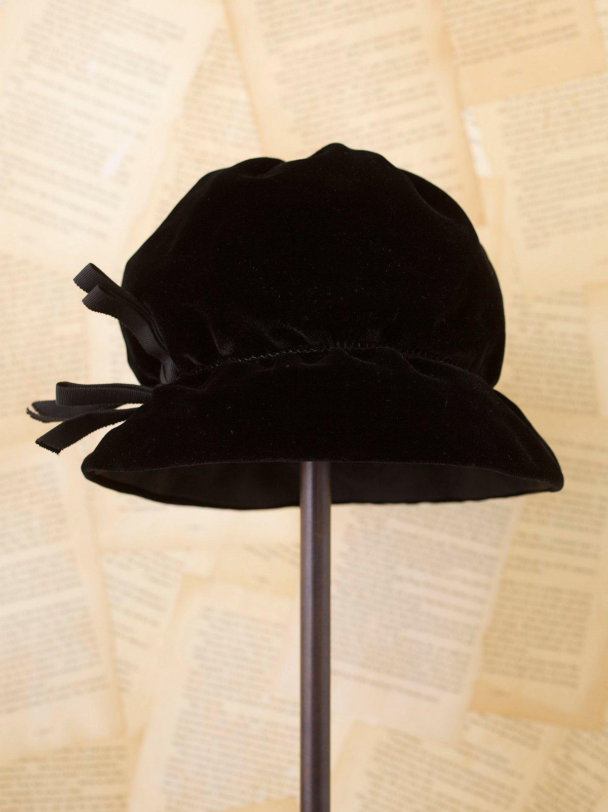 Vintage Velvet Hat