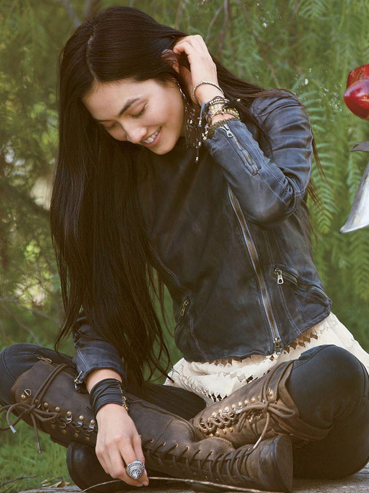Blur Leather Jacket