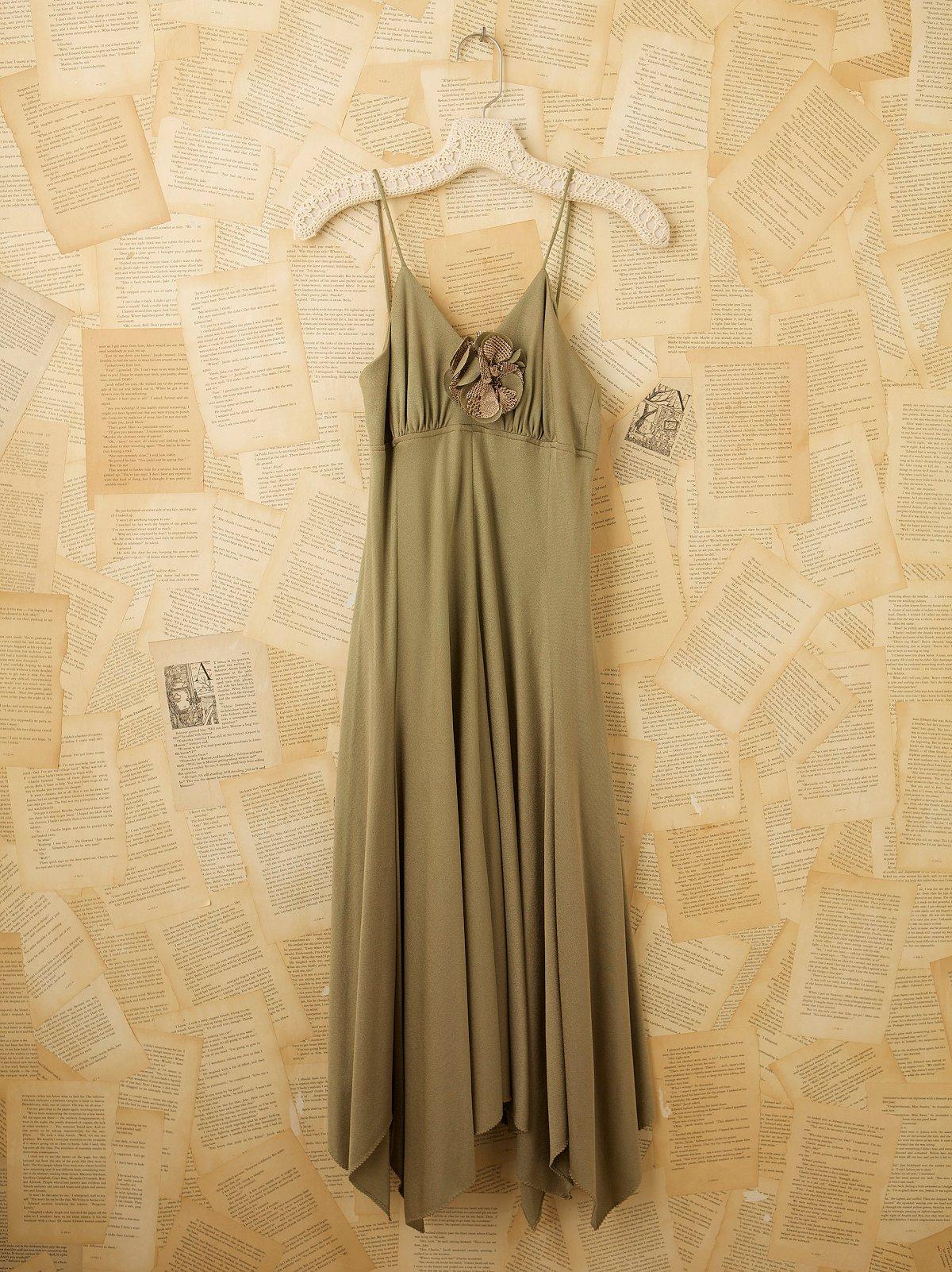 Vintage Floral Dance Dress