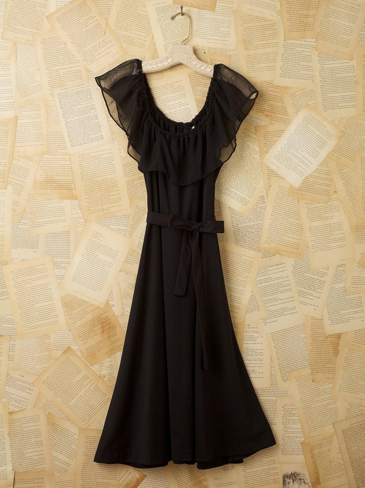 Vintage Bohemian Dance Dress