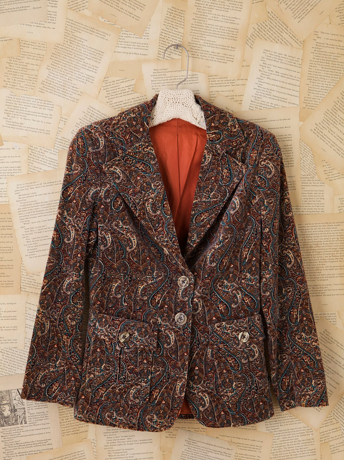 Vintage Cotton Paisley Jacket