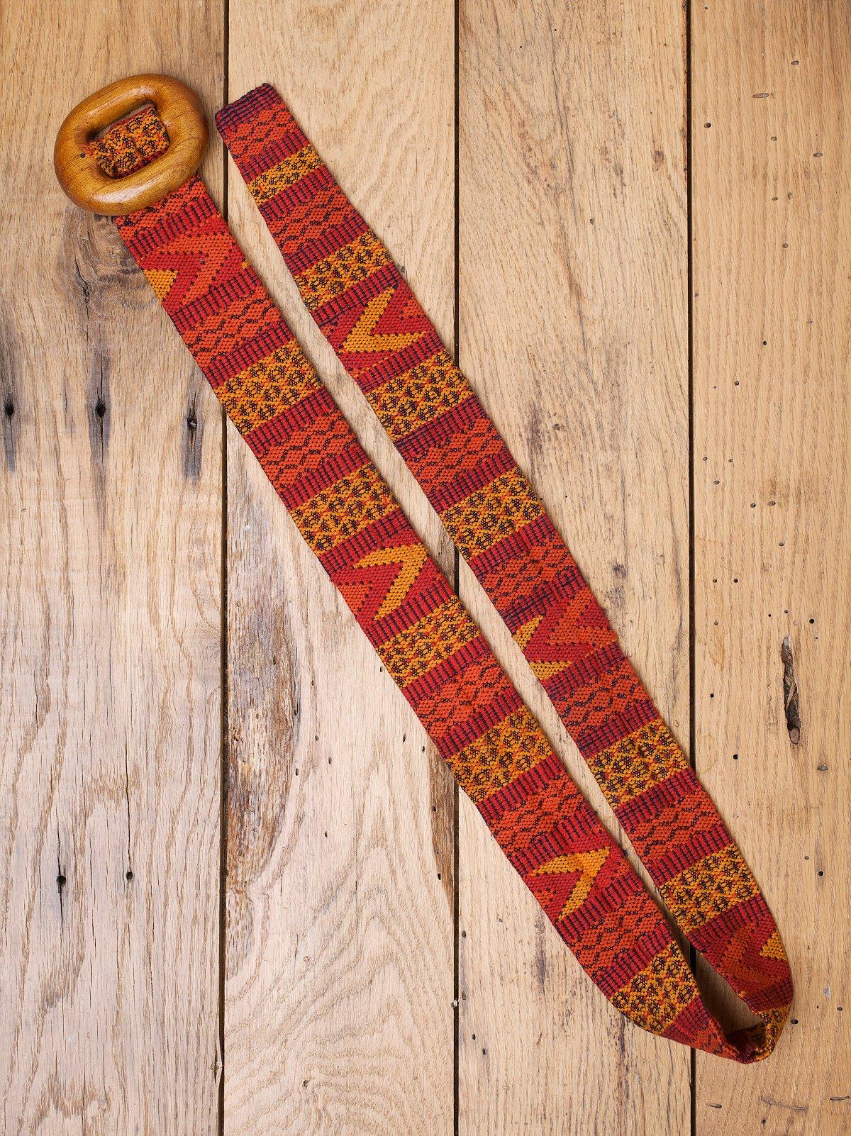 Vintage Woven Belt