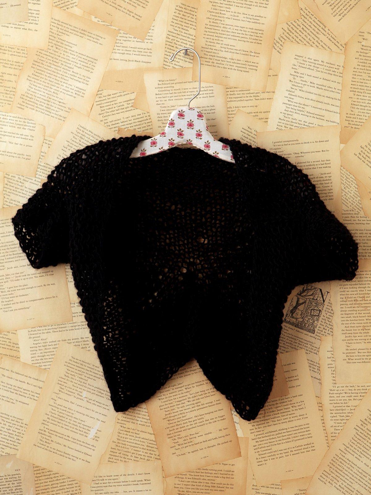 Vintage Hand Knit Ballerina Sweater