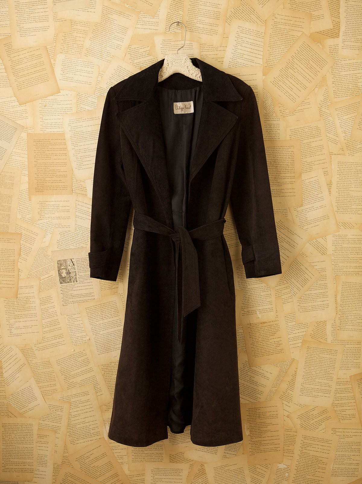 Vintage Glove Leather Coat